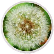 Make A Wish Round Beach Towel by Andrea Anderegg