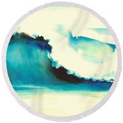 Makena Maui Round Beach Towel