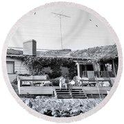 Malibu Beach House - 1960 Round Beach Towel