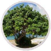 Mangrove Tree Round Beach Towel