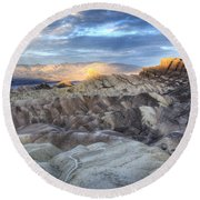 Manly Beacon Round Beach Towel by Juli Scalzi