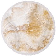 Marble Round Beach Towel