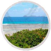 Marina Cay Villas Round Beach Towel