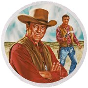 Marshall Mat Dillon Round Beach Towel