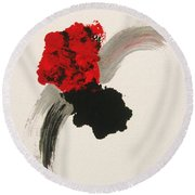 Maruhanabachi Round Beach Towel by Roberto Prusso