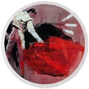 Matador Round Beach Towel by Mark Adlington