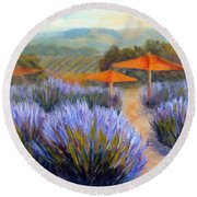 Matanzas Late June Round Beach Towel