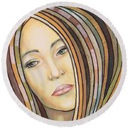 Melancholy 300308 Round Beach Towel
