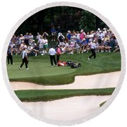 12w192 Memorial Tournament Photo Round Beach Towel