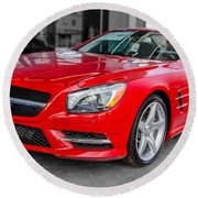 Mercedes Sl550   7d01718 Round Beach Towel