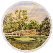 Merion Golf Club Round Beach Towel