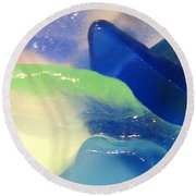 Mermaid's Treasure Round Beach Towel