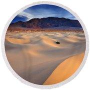 Mesquite Gold Round Beach Towel