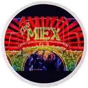 Mex Party Round Beach Towel