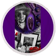 Michael's Memorial Round Beach Towel