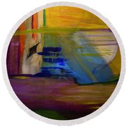 Millenium Park Round Beach Towel by Dick Bourgault