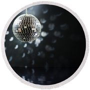 Mirrorball Round Beach Towel