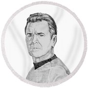Montgomery Scott Round Beach Towel