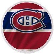 Montreal Canadiens Uniform Round Beach Towel