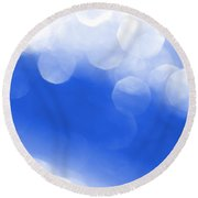 Moondance Round Beach Towel