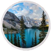 Moraine Round Beach Towel
