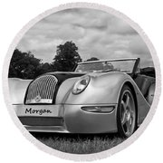 Morgan Round Beach Towel by Scott Carruthers