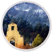 Morley Mission 1917 Colorado Round Beach Towel