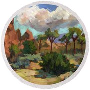Morning At Joshua Round Beach Towel
