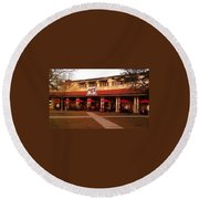 Morning Call In The Oaks - New Orleans City Park Round Beach Towel