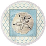 Moroccan Spa 2 Round Beach Towel