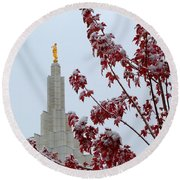 Moroni Round Beach Towel
