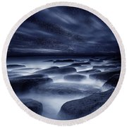 Morpheus Kingdom Round Beach Towel