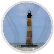Sand Sea And Whimsey Round Beach Towel by Dale Powell