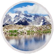 Mt Baker Snoqualmie National Forest Wa Round Beach Towel