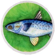 Mullet  Round Beach Towel