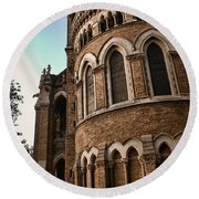 Mumbai University Round Beach Towel