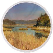 Murvale Creek Round Beach Towel