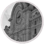 Musee D'orsay Round Beach Towel