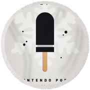 My Nintendo Ice Pop - Bullet Bill Round Beach Towel