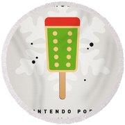 My Nintendo Ice Pop - King Bowser Round Beach Towel