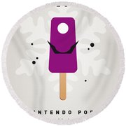 My Nintendo Ice Pop - Waluigi Round Beach Towel