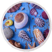 My Shell Collection Round Beach Towel
