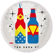 My Super Soda Pops No-06 Round Beach Towel