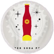My Super Soda Pops No-09 Round Beach Towel