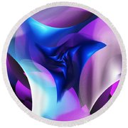 Round Beach Towel featuring the digital art Mysterious  by David Lane