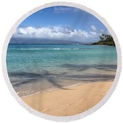 Napili Bay Maui Round Beach Towel