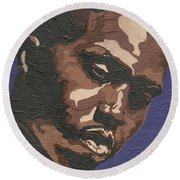 Nas Round Beach Towel