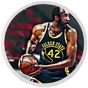 Nate Thurmond Round Beach Towel
