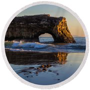 Natural Bridge Round Beach Towel