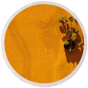 Nature Don't Stop II Round Beach Towel